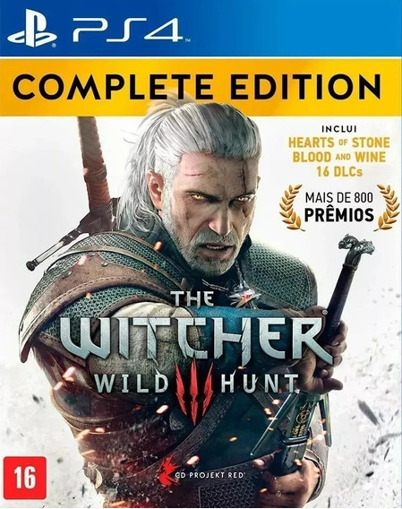The Witcher Iii Wild Hunt Complete Edition Ps4 Mídia Física