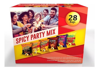 Cheetos Doritos Picantes Fritolay Spicy Mix 28 Unds Snacks