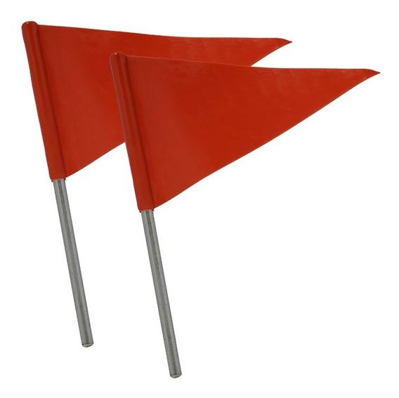 Banderin Banderola Señalamiento Poliuretano 2 Pzas