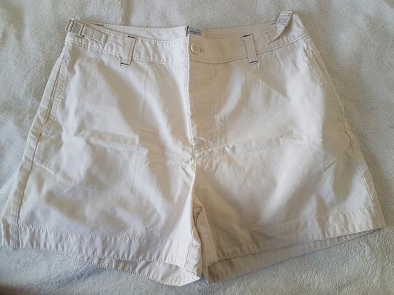 Shorts Bermuda Gap Feminina Cru 38 Nacional 6 Eua 1 Uso Nova