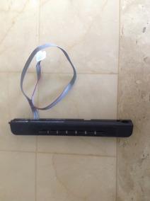 Teclado Da Tv Semp Le 3256 Completo Com Flat