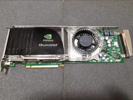 Placa De Vídeo Nvidia Quadro Fx5600 1.5 Gb 384bit