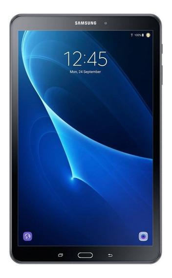 "Tablet Samsung Galaxy Tab A SM-T580 10.1"" 16GB black com memória RAM 2GB"
