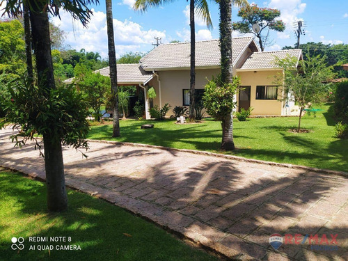 Chácara Com 7 Dormitórios À Venda, 5000 M² Por R$ 1.900.000,00 - Colinas Do Mosteiro De Itaici - Indaiatuba/sp - Ch0036