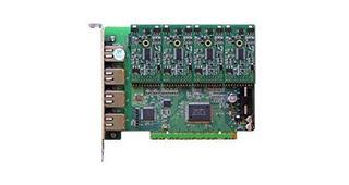 Tarjeta Base Openvox A400p40 4 Puertos Analógicos Pci Con 4