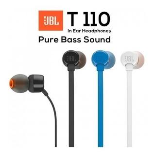 Auricular Jbl T110 Pure Bass Sound Originales Colores Centro