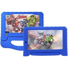 Tablet Multilaser Disney Avengers Plus 8gb Wifi Meninos Azul