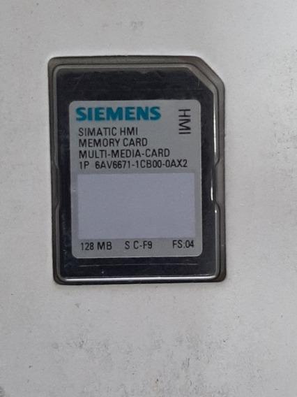 Siemens 6av6 671 1cb00 0ax2 128mb Cartão