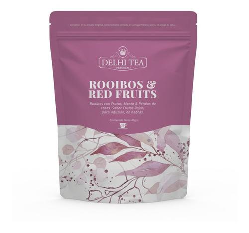 Té Hebras Delhi Tea Premium Rooibos Red Fruits
