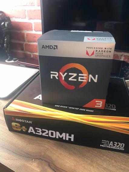 Ryzen 3 2200g + Biostar Am320mh - 1 Mês - Nota E Garantia