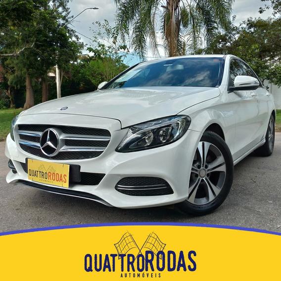 Mercedes C180 - 2015/2015 1.6 Cgi 16v Turbo Gasolina Aut