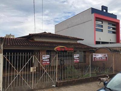 Casa Com 4 Dormitórios À Venda, 190 M² Por R$ 1.350.000 - Centro - São Carlos/sp - Ca1263