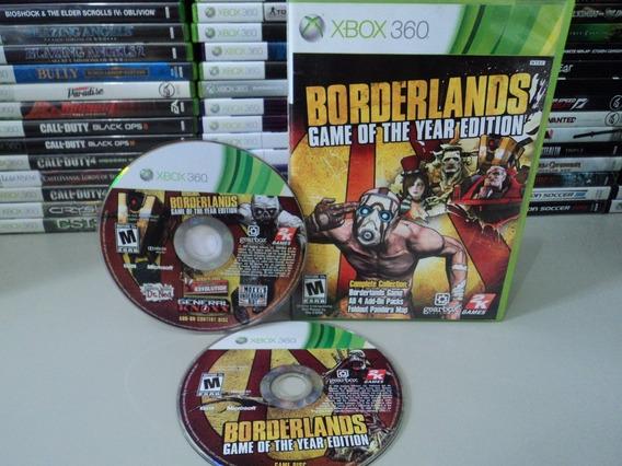 Borderlands Xbox 360 Original Jogo Do Ano