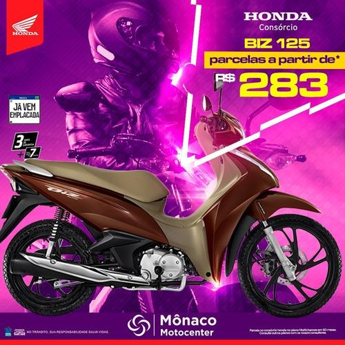 Consórcio Honda Biz 125i 2021