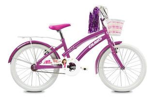 Bicicleta Infantil Olmo Tiny Dancers Rod. 20 Violeta Mandy