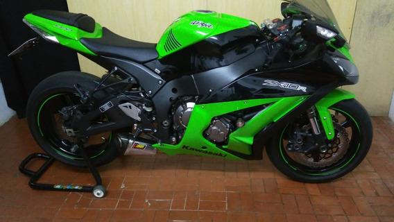 Kawasaki Ninja Zx-10 R * * 12 Mil Km Freios Abs * * 2012