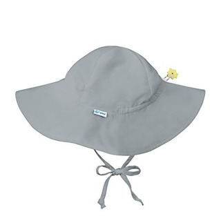 Yo Juego. Sombrero De Protección Sun Brim Sun, Gris, 0-6 Mes