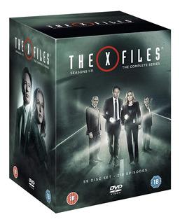 The X-files Dvd Serie 11 Temporadas + 2 Peliculas !