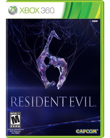 Jogo Resident Evil 6 Em Português Xbox 360 Lacrado