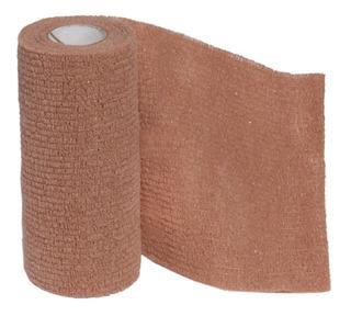 Bandagem Elástica Auto Adesiva Cohere 7,5 Cm X 5 Mt Bege