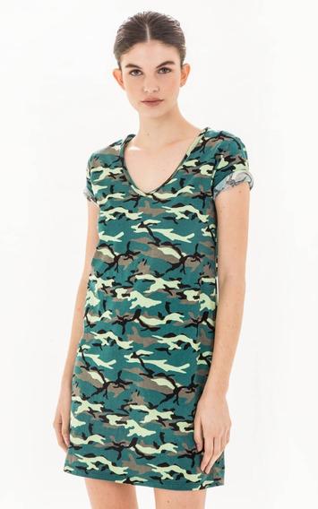 Vestido Paula Cahen Danvers Wild Militar
