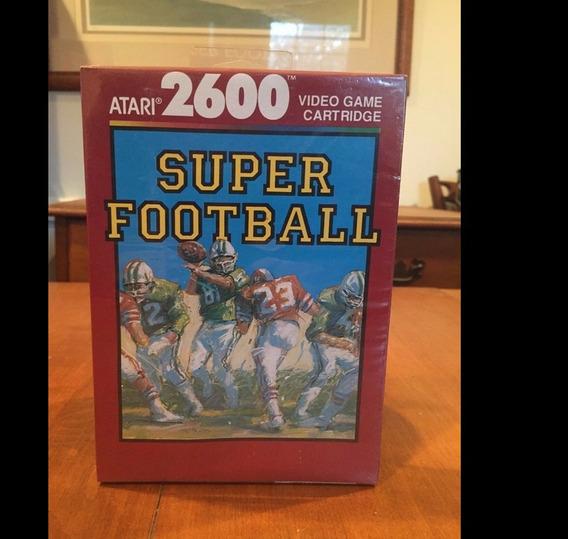 Atari Jogo Super Football Lacrado Cartucho Do Ano 1989 Raro