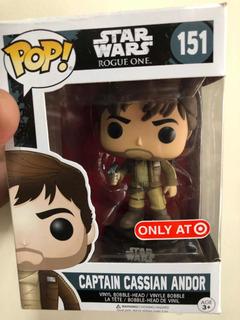 Funko Pop Star Wars Captain Cassian Andor #151 Exclusivo