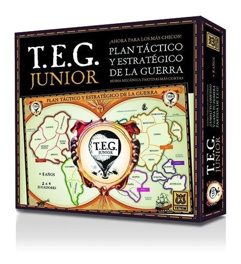 Teg Jr. (la Version Del Teg, Adaptada Para Los Mas Chicos)