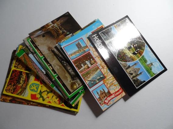 Lote Postales Holanda Años 80 De Coleccion