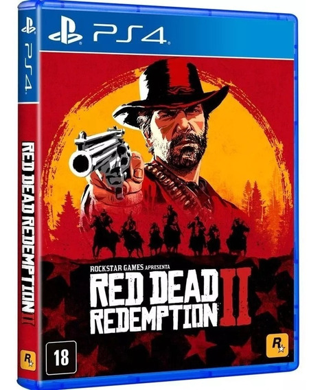 Red Dead Redemption 2 - Playstation 4 Midia Física Lacrada