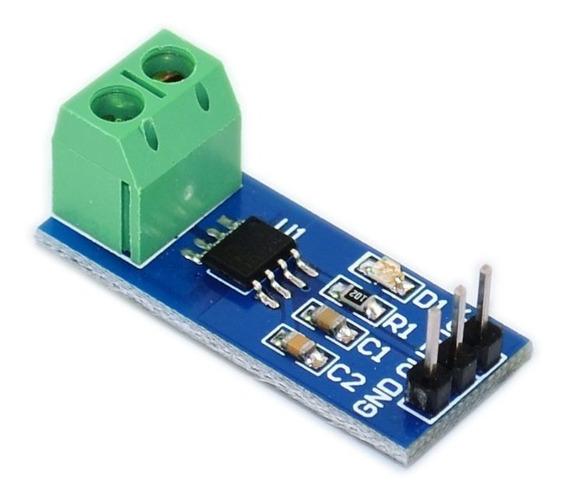 Sensor De Corrente Acs712-30a Para Arduino Esp8266 Esp32