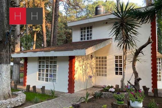 Casa En Renta En Flor Del Bosque Cuahuyocan Con Amplio Jardí