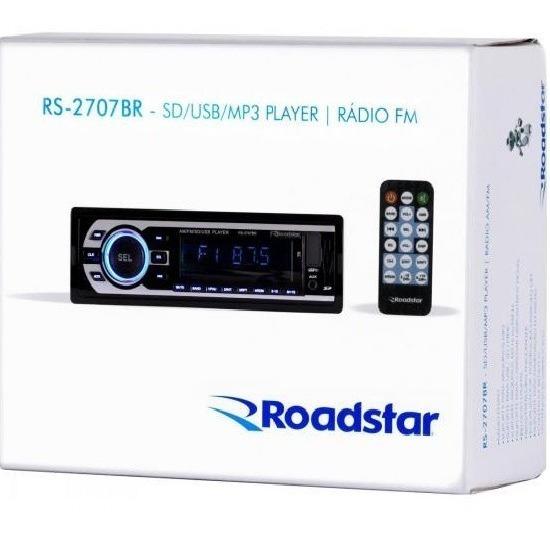 Radio Roadstar Rs2707br Fm/am/usb/sd