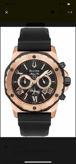 Relógio Bulova Modelo Raro 98b104 Original