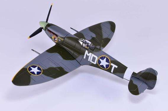 Miniatura Avião Metal 1/72 Spitfire Corgi (edição Limitada)