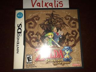 Zelda Phantom Hourglass Nintendo Ds Original