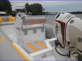Semirrigido Gomon Kiel 500 Motor 90 Hp Evinrude Etec Cero Hs