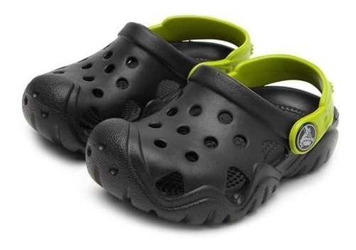 Sandália Crocs Infantil Swiftwater Clog Original Nota Fiscal