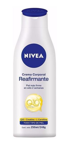 Crema Nivea Reafirmante Q10 Plus 250 Ml