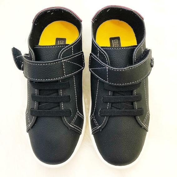 Sapato Sapatenis Menino Infantil Klin -17229