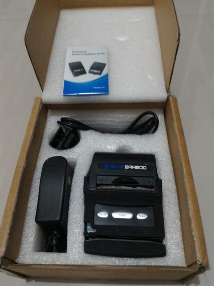 Impressora Térmica Blue Bamboo P25-m Portátil Bluetooth Nova