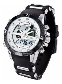 Relógio Masculino Militar Weide Modelo Wh-1104