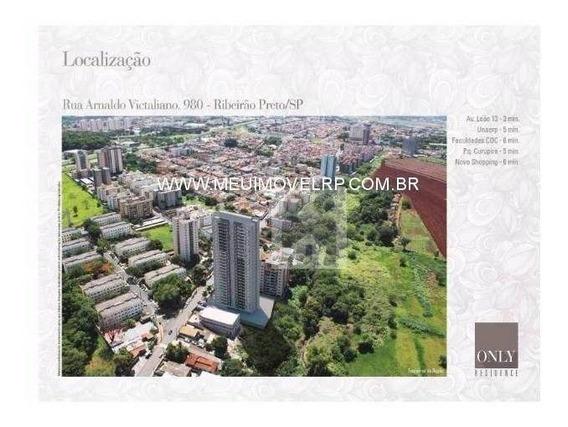 Apartamento Residencial À Venda- Only Residence - Jardim Palma Travassos, Ribeirão Preto - Ap0668