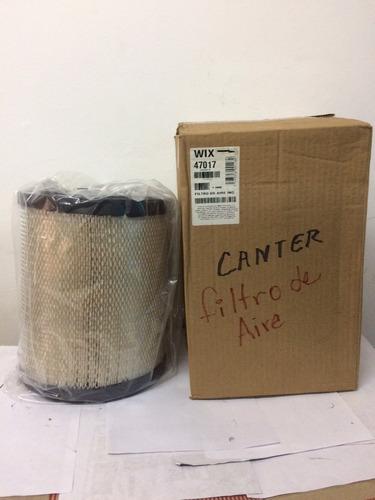 Filtro Aire Wix 47017 Npr Con Turbo Y Canter 659