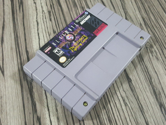 Ultimate Mortal Kombat 3 Original Repro Snes + Garantia!!!!