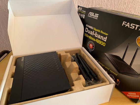 Roteador Gamer Asus Rt-n66u Dual-band 2x2 N900 Wifi 4-port