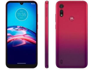 Smartphone Motorola Moto E6s 64gb 6.1 Cam 13mp - Vermelho