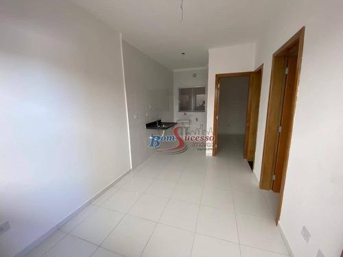 Apartamento Com 2 Dormitórios À Venda, 40 M² Por R$ 195.000,00 - Vila Antonieta - São Paulo/sp - Ap2832