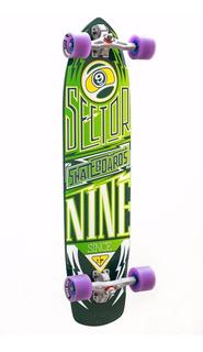 Skate Longboard Downhill Speed - Sector 9 + Seismic + Schuss