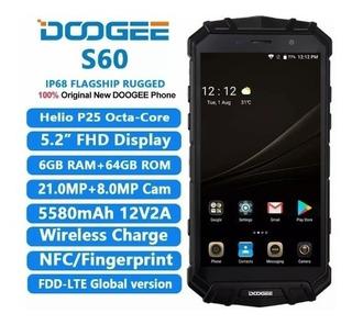 Celular Doogee S60 4g 6gb Ram 64gb 21mpx Impermb. (a Pedido)